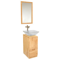 New Contemporary Bathroom Vanities And Sink Consoles by Burroughs Hardwoods Inc