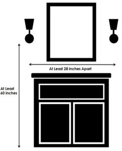 What Height To Hang Bath Sconces Pendants
