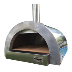 ilFornino, New York - ilFornino® F, Series Mini Basic Stainless Steel Wood Fired Pizza Oven - Outdoor Pizza Ovens