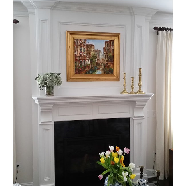 fireplace mantels. Mantels With Top Panels Fireplace