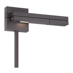 WAC Lighting Flip LED Right Swing Arm, Bronze