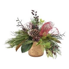 Holiday Pine Centerpiece