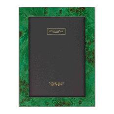 Addison Ross Malachite Poplar Marquetry Picture Frame, 5x7