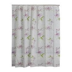 Flowers-2 PEVA Waterproof Shower Curtain Bathroom Curtain Bathroom Decor