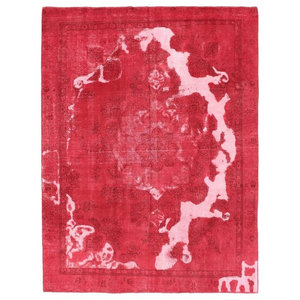Vintage Royal Oriental Rug, Hand-Knotted Modern, 365x274 cm