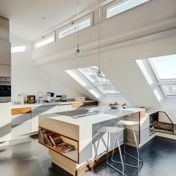 Dachgeschoss Rustikal – Berlin Mitte