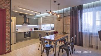 Жилая квартира 80 кв.м. комплексная реализация.