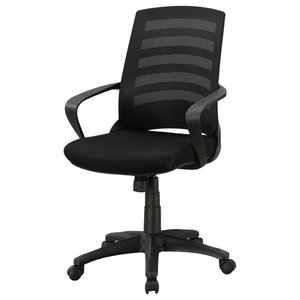 Office Chair, Multi Position, , Black