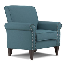 Bay   Fortuna Armchair, Teal   Armchairs And Accent Chairs