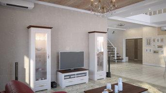 Дом в стиле современная классика
