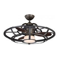 "Savoy House - Savoy House 26"" Alsace Fan d'Lier in Reclaimed Wood - 26-9536-FD-196 - Ceiling Fans"
