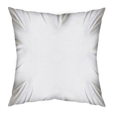 Mercana Modern Accent Pillow, White