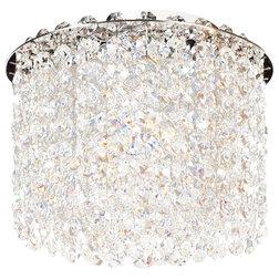Elegant Contemporary Flush mount Ceiling Lighting by Allegri Crystal by Kalco Lighting