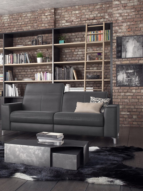Triton Leather Sofa By Rom, Belgium   Sofas