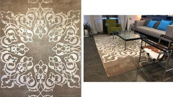 casa moderno con tappeto contemporaneo