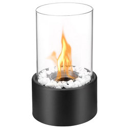 Contemporary Tabletop Fireplaces by Mach Group