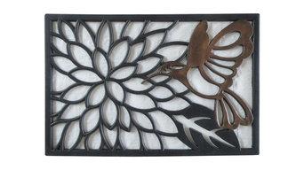 """Hummingbird Rubber Doormat, 20""""x30"""""""