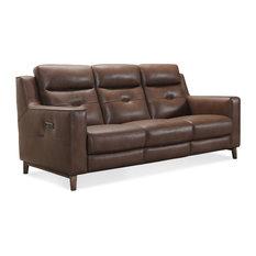 Lachlan Power Leather Headrest Sofa