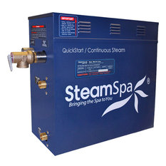 SteamSpa OA1050BN Oasis 10.5 KW QuickStart Acu-Steam Bath Generator Package i...