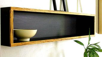 Modular Floating Book Shelf