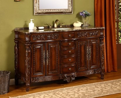 http://www.listvanities.com/antique-bathroom-vanities. - Antique Bathroom Vanities