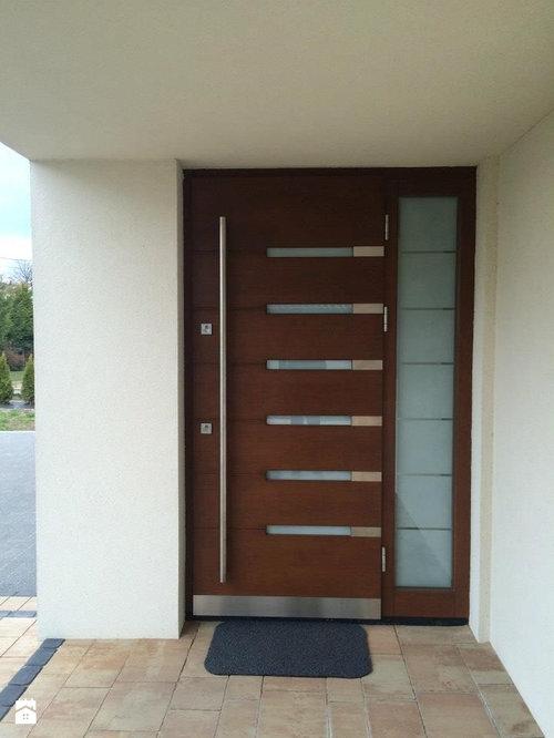 European Mahogany Wood Exterior Doors Custom Order