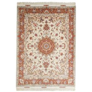 Tabriz 50Raj Persian Rug, Hand-Knotted, 200x150 cm