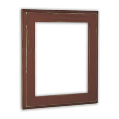 "Allison Rust Picture Frame, Solid Wood, 11""x14"""
