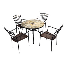 Alicante Patio Table With Murcia Chairs, 5-Piece Set