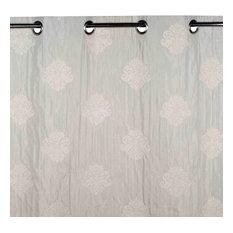 """Eyelet Curtain Duomo, Off-White, 53.1""""x110.2"""""""