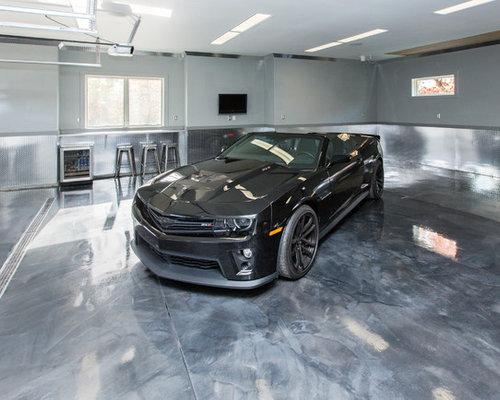 metallic epoxy floor design ideas amp remodel pictures houzz dream garage designs 6 essential features that work