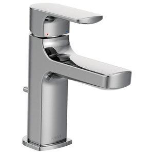 Moen Rizon Chrome 1-Handle Low Arc Bathroom Faucet