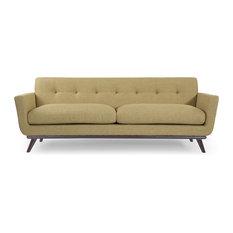 Kardiel   Jackie Classic Sofa, Lemon Grass, Material: Twill   Sofas