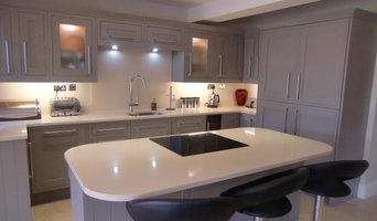 Crystal Royal Quartz island & worktops, Technistone