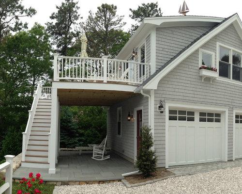 Carport deck houzz for Carport deck