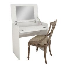Nexera   Nexera 221603 Boulevard Vanity, White   Bedroom U0026 Makeup Vanities