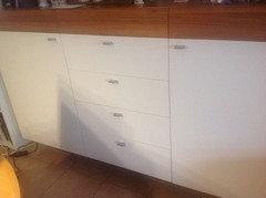 Das Wäre Erstmal Der Schrank In Der Küche   Unser Sideboard.
