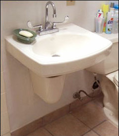 How To Hide These Ugly Plumbing Pipes