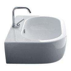"Flo 3142 Ceramic Sink 23.6"" x 16.5"""