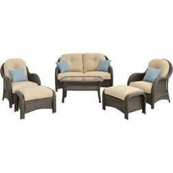 Fresh Transitional Outdoor Lounge Sets by Almo Fulfillment Services