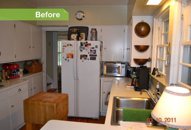 User Before/After. Traditional Kitchen ...