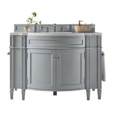 Brittany 46-inch Vanity Urban Gray 3cm Arctic Fall Top