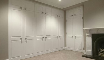 Fitted wardrobes.