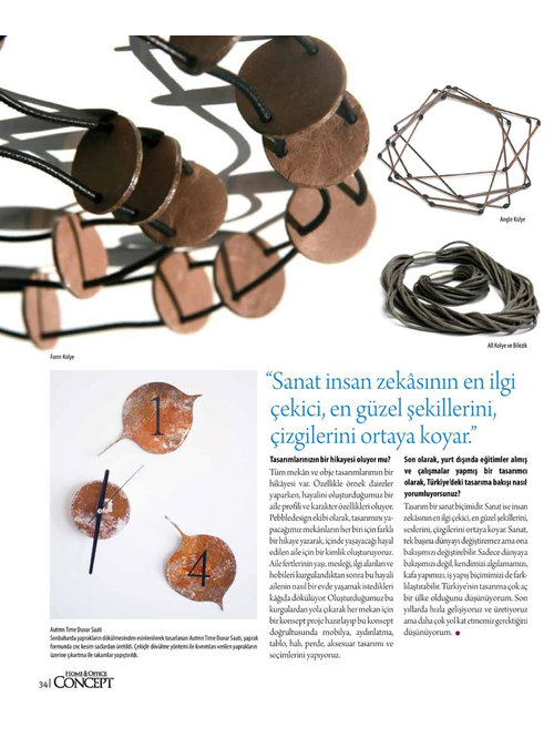 Home&Office Concept Magazine - Products