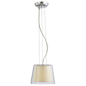 Savoy House Europe Contemporary Plissé Small Pendant Lamp