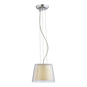 Savoy House Europe Contemporary Plissé Small Pendant Lamp