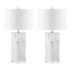 Safavieh Olympia Marble Table Lamps, Set of 2
