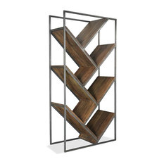 Etagere in Rustic Saal Finish