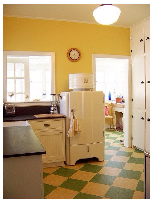Need RETRO linoleum floor for kitchen