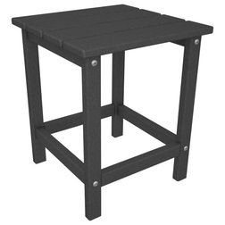 Transitional Outdoor Side Tables by Polywood Furniture